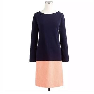 J.Crew Maritime Dress Long Sleeve Shift Zippers